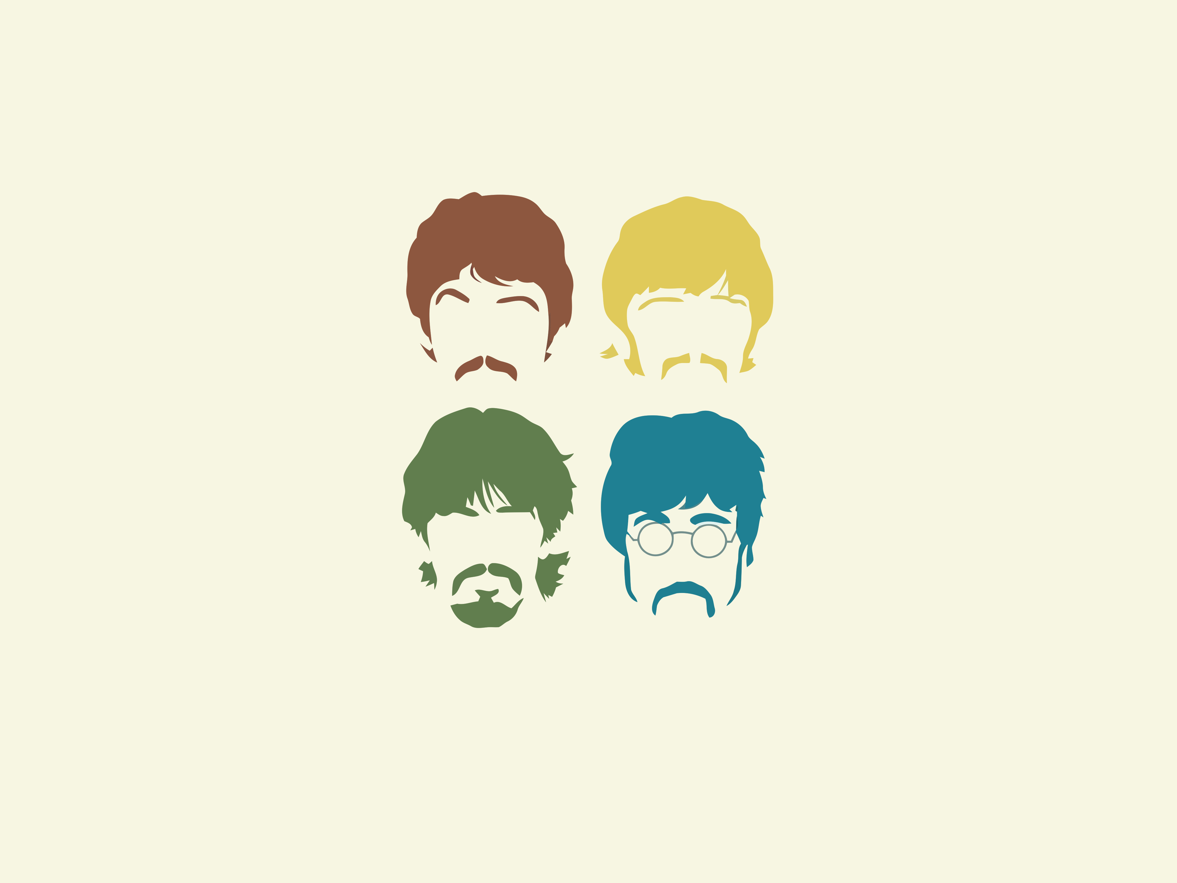 The Beatles Faces Page